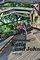 ENGAGEMENT Katie and John July 27, 2015