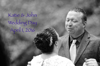WEDDING Katie and John Lovell April 2016